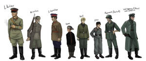 Characters on the project Stalingrad