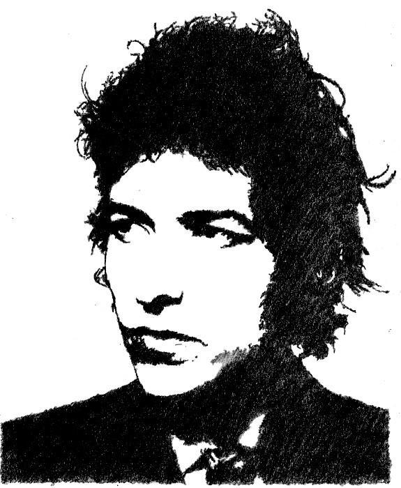 Bob Dylan by shatteredroses