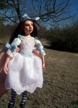 Little Alice doll. Commission.