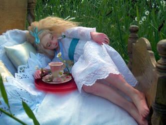 Alice. Featured in Last Laugh Magazine.