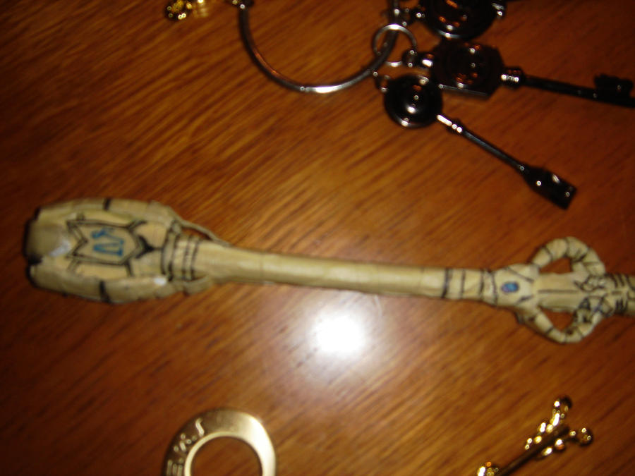 Home made Fairy tail Capricorn key by xLevyChan on DeviantArt