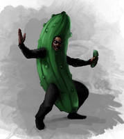 The Man in the Pickle Suit