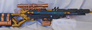 Steampunk Sniper Rifle - backside