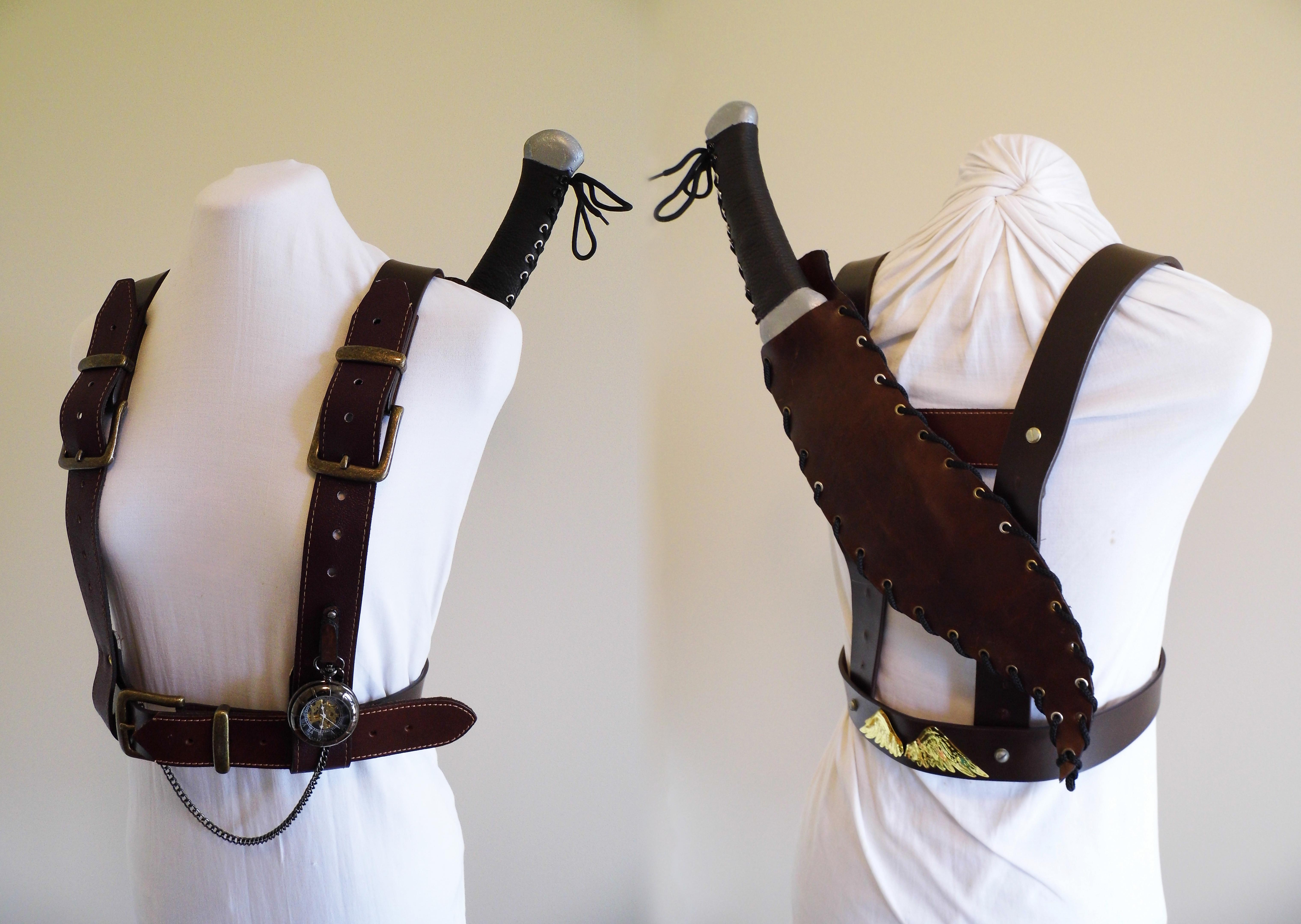 Steampunk Harness by vanbangerburger