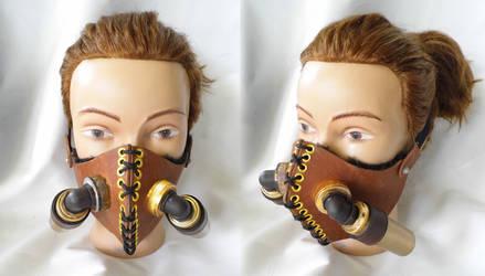 Stampunk Breathing Apparatus by vanbangerburger