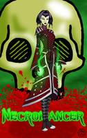 GuildWars Necromancer by fledermaus