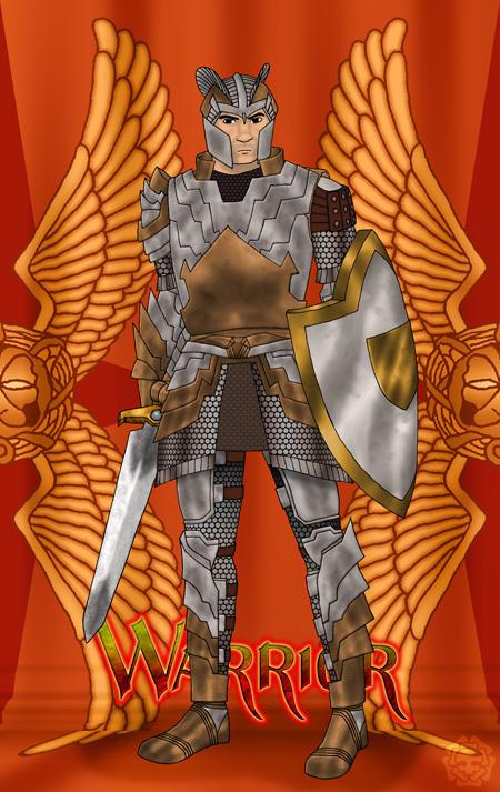 GuildWars Warrior by fledermaus