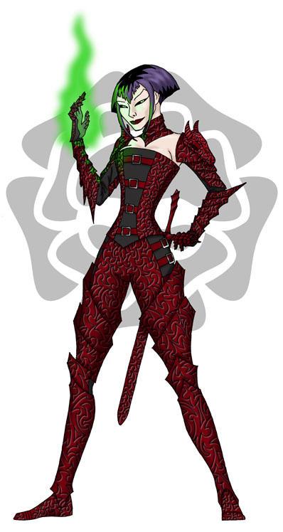 GuildWars Necromancer redux by fledermaus