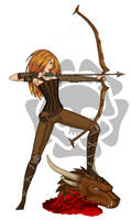 GuildWars Ranger redux by fledermaus