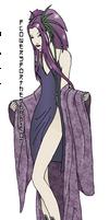 Murasaki with kimono by fledermaus