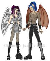 C8 Angels by fledermaus