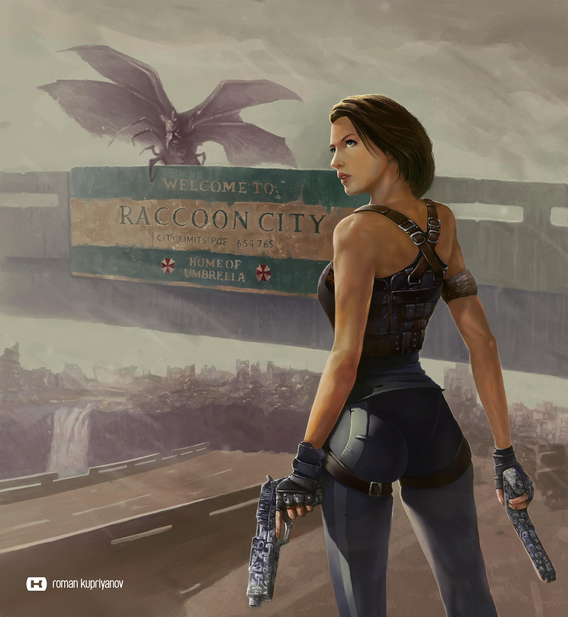 Alice Resident Evil The Final Chapter By Roman Kupriyanov On