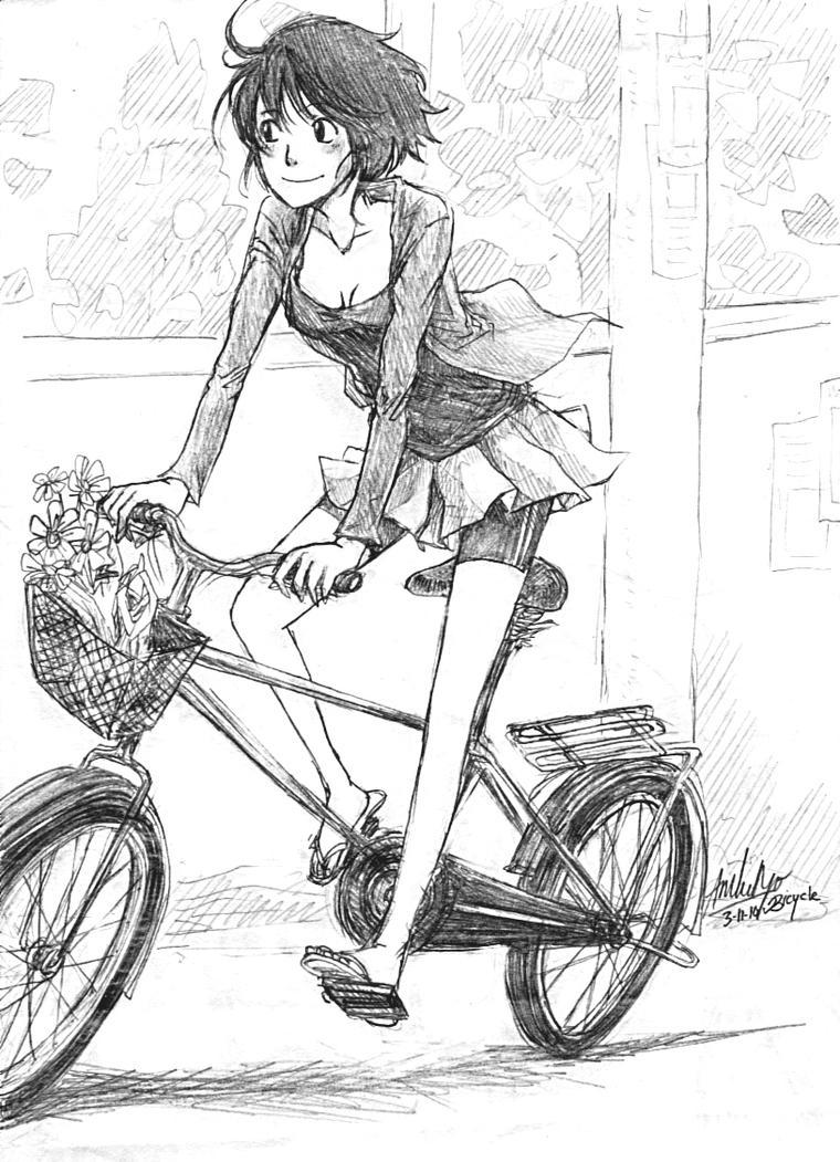 Bicycle by achikun