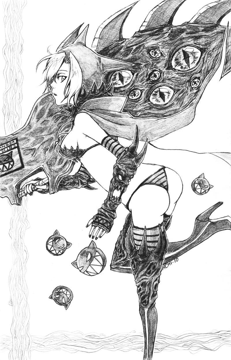 Fantasy Hunter by achikun