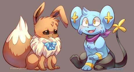 Mocha and Shinx