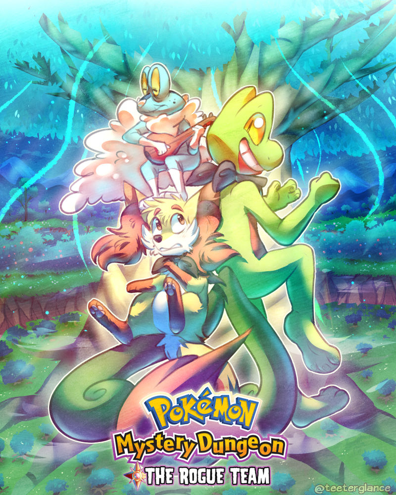 Pokemon Mystery Dungeon: The Rogue Team [COVER]