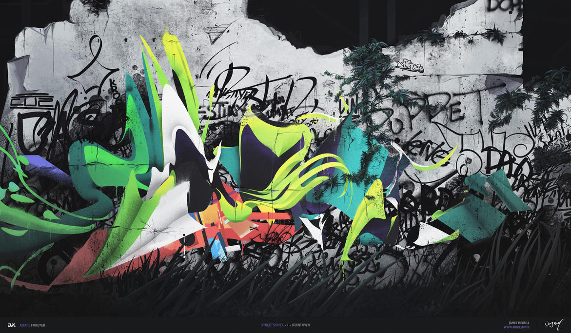 Street Series- Ruintown By James Merrill by toThePixel
