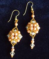 Baroque Earrings by Elbenlady-Elanor