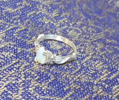 My version of Nenya - Opal Ring by Elbenlady-Elanor