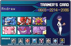 Pokemon Trainer Card by DEDEDEJr