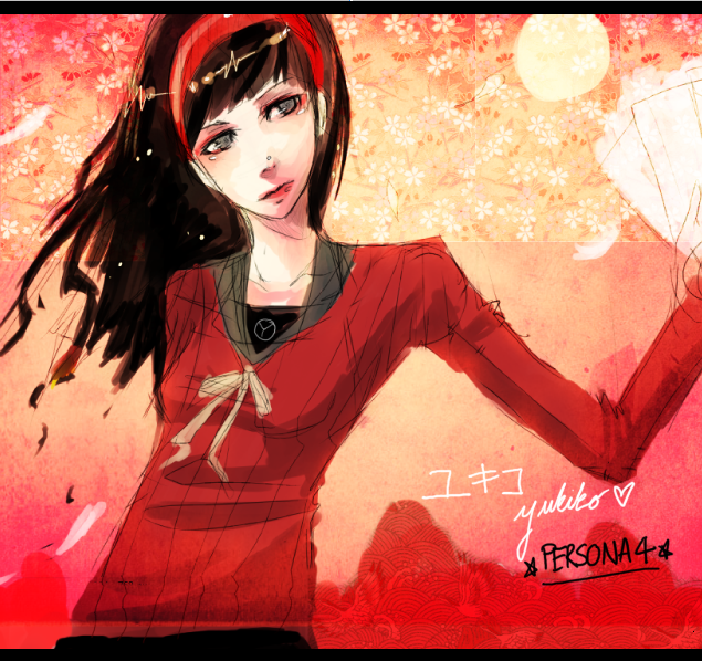 Yukiko Amagi- Persona 4 by tifachanx