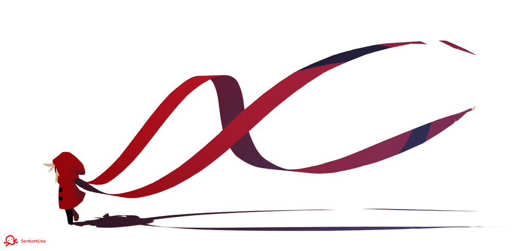 Flowy Scarf by SentientLine