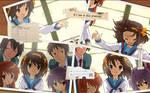 Haruhi Suzumiya Desktop 3