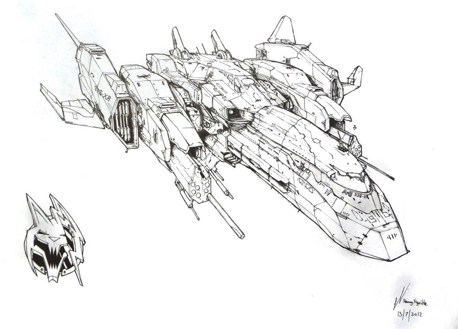 spacecraft drawing - photo #9