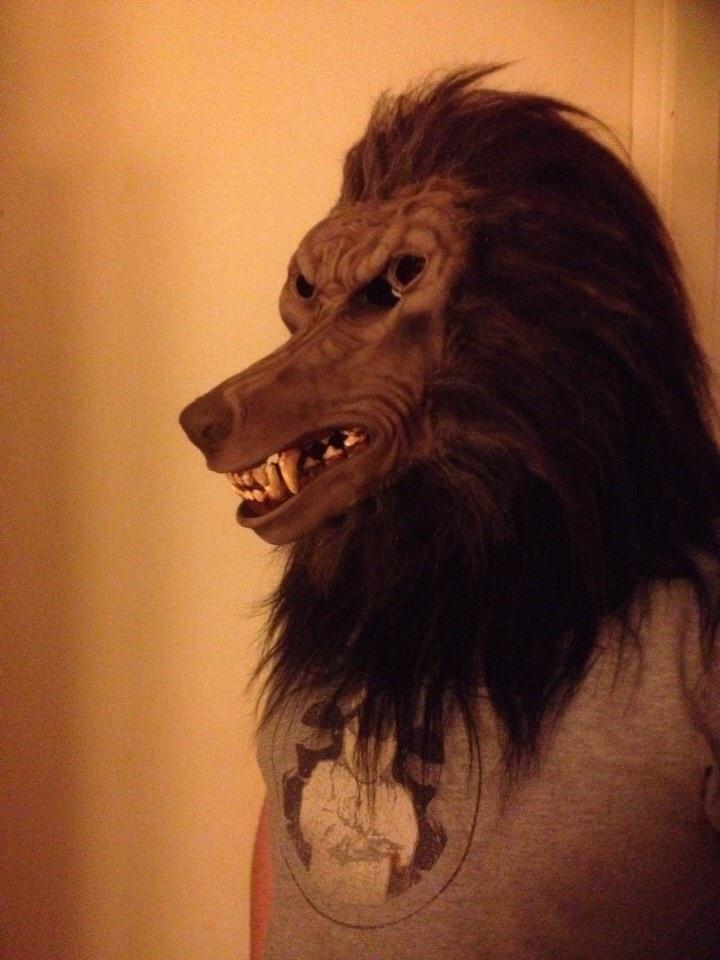 Werewolf mask by ZyPressQ