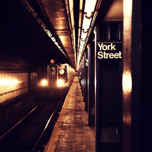 New York City: York Street Station. by inbrainstorm