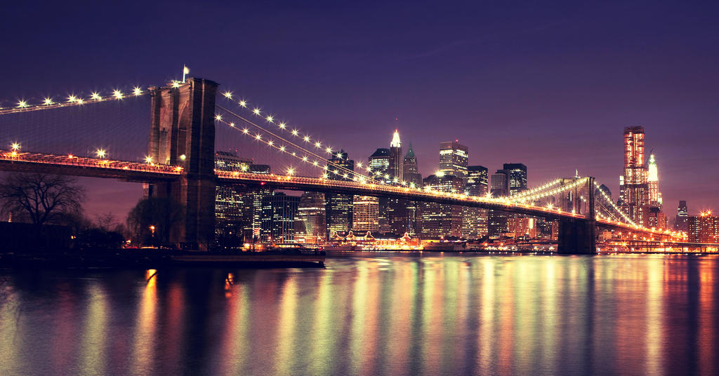 new york brooklyn bridge by inbrainstorm on deviantart. Black Bedroom Furniture Sets. Home Design Ideas