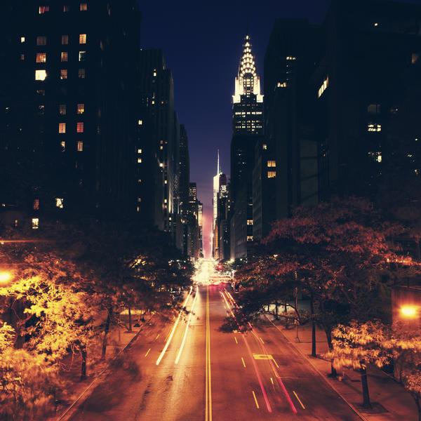 New York City: 42nd Street. by inbrainstorm