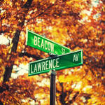 Boston: Street Signs.