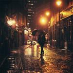 Boston: The Autumn Rain. by inbrainstorm