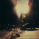 New York City: The Bicyclist.