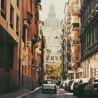 Budapest: Lazar Utca. by inbrainstorm