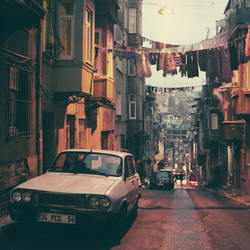 Istanbul: The street in Tarlabasi. by inbrainstorm