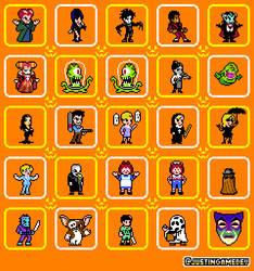 Halloween Pixel Parade