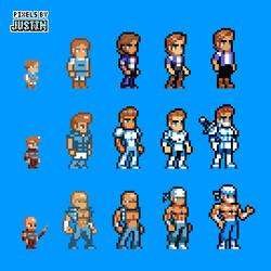 Pixel Art Evolution