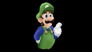 Super Luigi Bros. Super Show Smashified RENDER by MarxallyHD