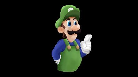 Super Luigi Bros. Super Show Smashified RENDER