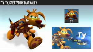 Ty the Tasmanian Tiger   Smashified by MarxallyHD