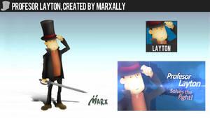 Profesor Layton | Smashified