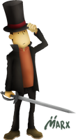 Profesor Layton | Smashified TRANSPARENT *edited*