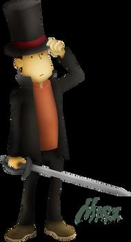 Profesor Layton | Smashified TRANSPARENT *edited*