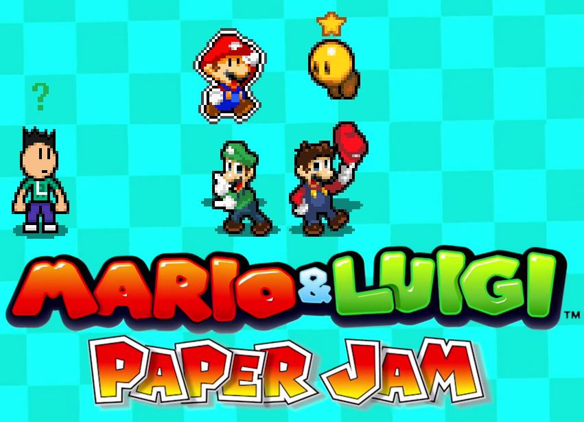 Mario And Luigi Paper Jam By Electricstaticgamer On Deviantart
