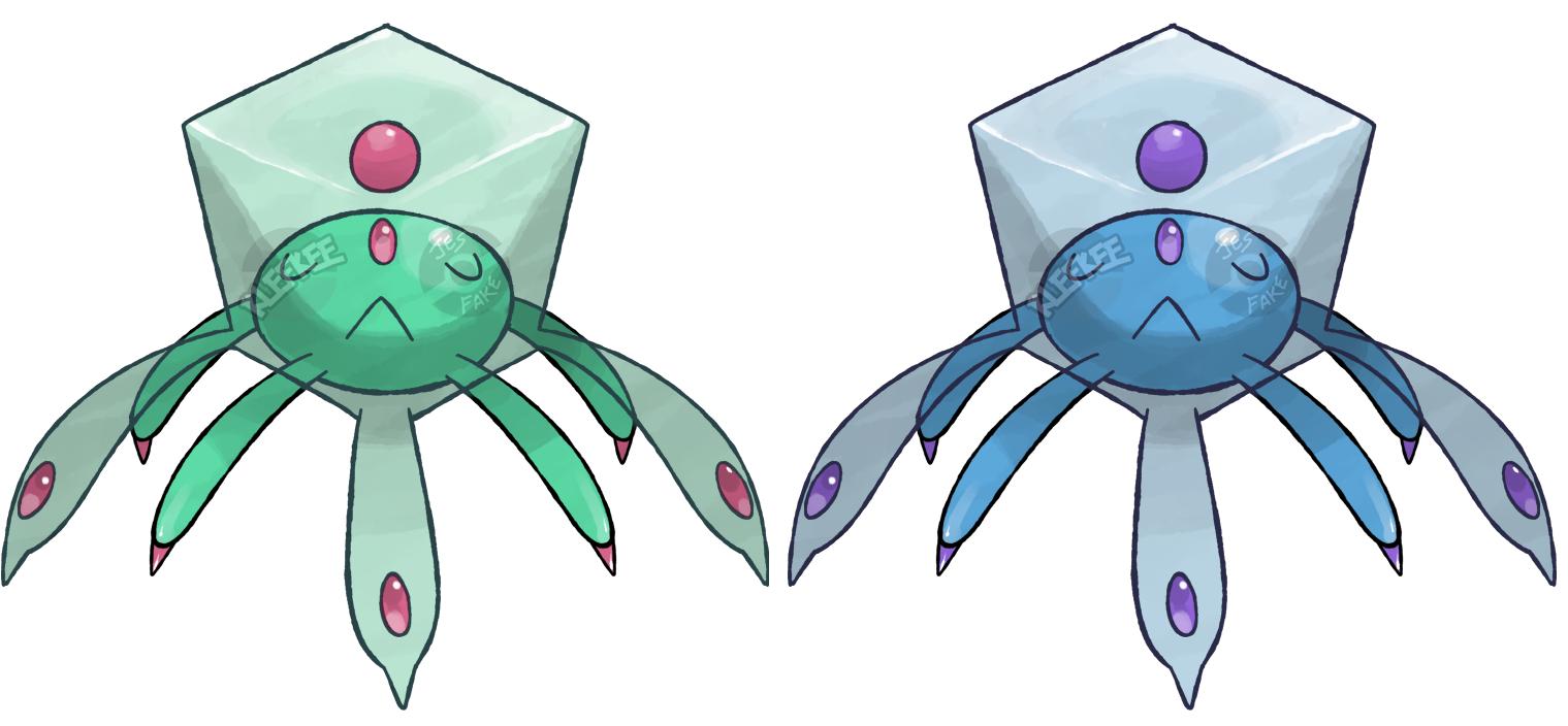 the box jellyfish pokemon by klefkee on deviantart