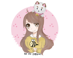 Bee And Puppycat by robieyn