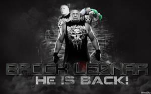 Brock Lesnar  WWE Wallpaper by WestSky