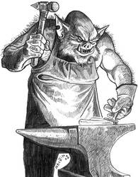 Ragesmith Orc Blacksmith
